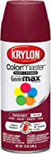 Krylon 53503 SW53503 12 oz Satin Burgundy Color Master Enamel Spray Paint 12 Ounce Aerosol