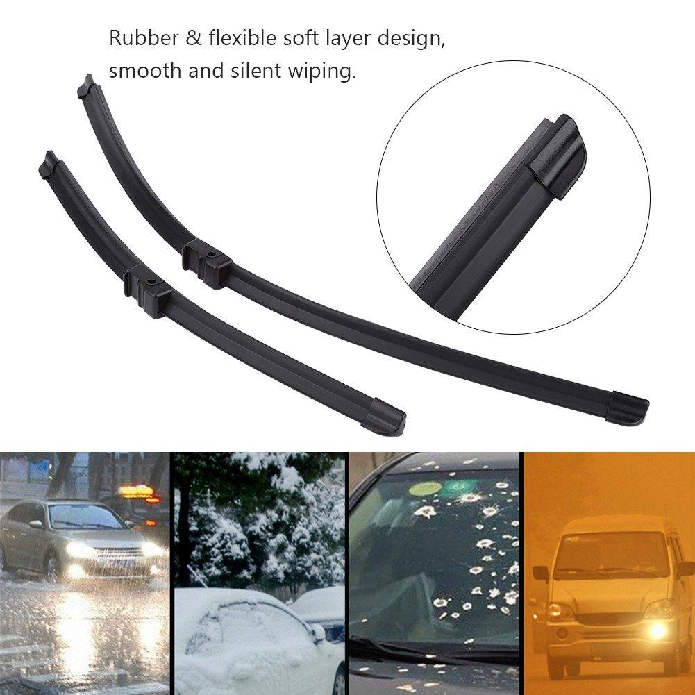 Car Auto Rear Window Parabrisas Limpia para brisas 2pcs: Amazon.es: Coche y moto