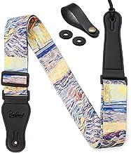 """Van Gogh""""Laboureur dans un champ"""" Guitar Strap Includes Strap Button & 2 Strap Locks Shoulder Strap For Bass, Electric & Acoustic Guitar"""
