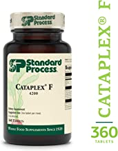 Standard Process - Cataplex F Tablets - Supports Inflammatory Response Function, Metabolism, and Nervous System, Provides Vitamin B6 and Natural Omega-3 Fatty Acids, Gluten Free - 360 Tablets