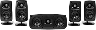 Klipsch Quintet IV Home Theater Speaker System (1010440)(Black High Gloss) (Renewed)