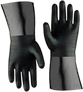 Artisan Griller BBQ Insulated Heat Resistant Cooking Gloves for Grill and Kitchen, Black (Size 10-12