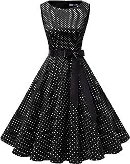 ff21d0f8 Gardenwed Women's Audrey Hepburn Rockabilly Vintage Dress 1950s Retro  Cocktail Swing Party Dress