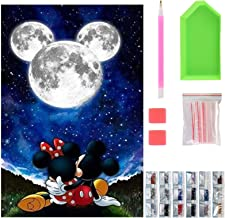 5D Diamond Painting Kits for Kids, Round Diamond Art Kits Adults, DIY Full Drill Crystal Diamond Painting for Home Decor, ...