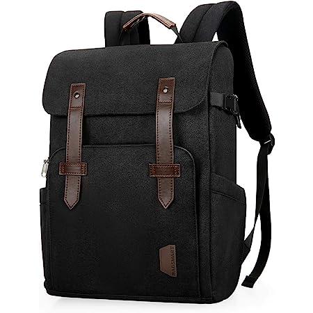 Camera Backpack, BAGSMART Camera Backpack Anti-Theft DSLR SLR Camera Bag Fit up to 15 '' Laptop with Waterproof Rain Cover Tripod Holder (Black)