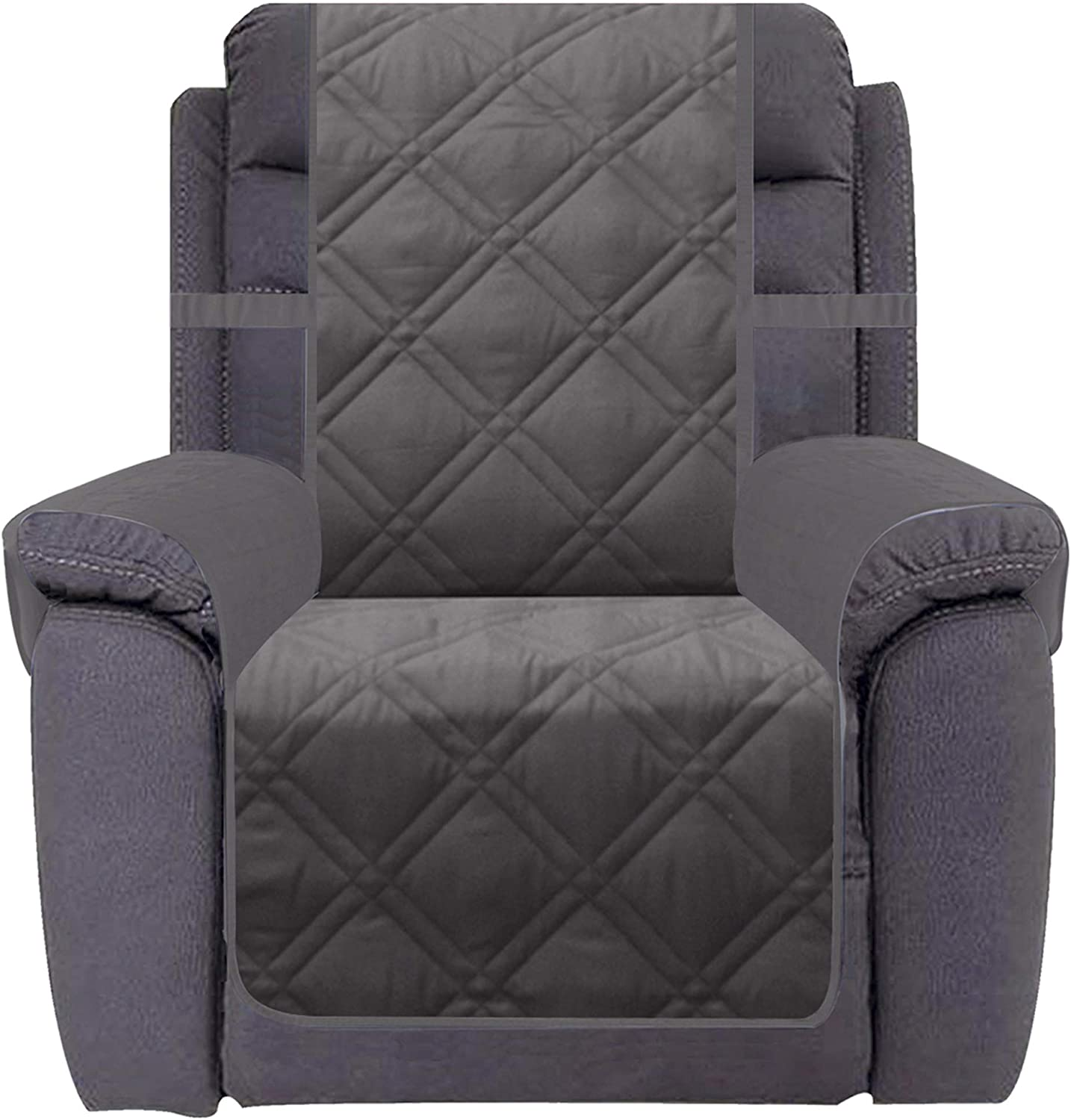 Ameritex New popularity Waterproof Nonslip Recliner Cover Pl Max 80% OFF Stay in Decor Home