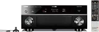 Yamaha RX-A1000 7.1-Channel Home Theater Receiver (OLD VERSION) (Discontinued by Manufacturer)