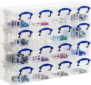 Archivo 2000 944564 Boîte de rangement Cuadrado 16 compartimentos Transparent