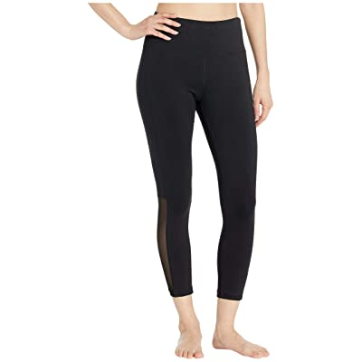 Bebe Sport Sport Applique Pants (Black) Women