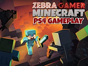 PS4 Gameplay Minecraft - Zebra Gamer