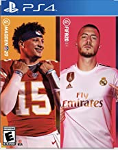 Madden NFL 20 and FIFA 20 Exclusive Video Game Bundle for PS4