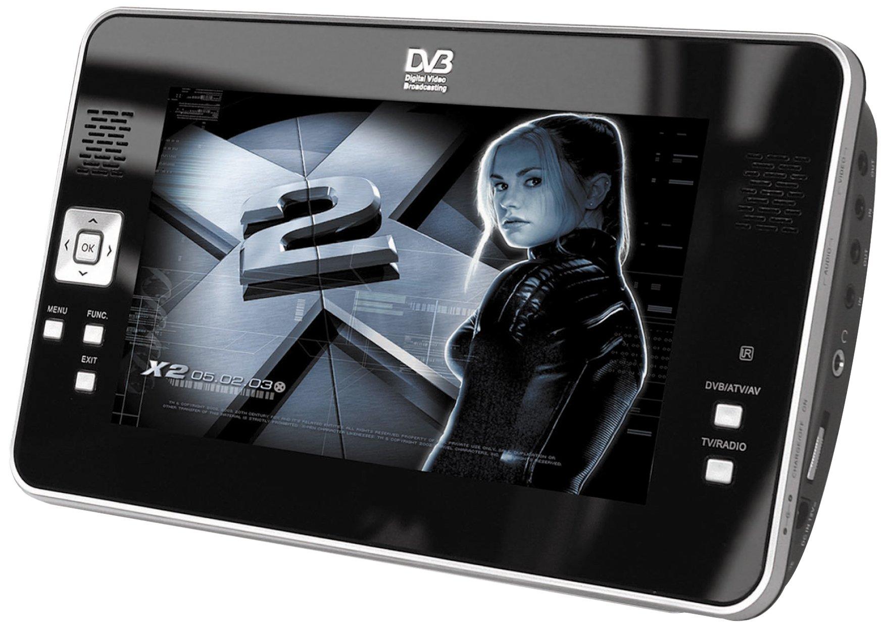 DMTech DM70DVB - Televisor portátil con pantalla LCD de 7