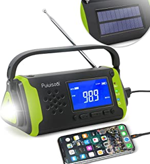 Sponsored Ad - Emergency-Radio with NOAA Weather Alert, 4000mah Hand Crank Portable Solar Survival Radios with Aux,Electro...