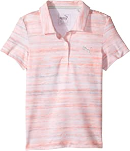 Watercolor Polo (Little Kids/Big Kids)