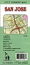 San Jose City Street map, California