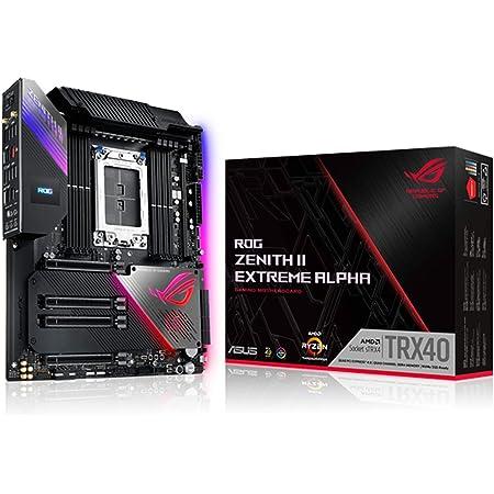 ASUS AMD TRX40 搭載 sTRX4 対応 マザーボード ROG ZENITH II EXTREME ALPHA 【 E-ATX 】