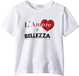 Dolce & Gabbana Kids - Love & Bellezza T-Shirt (Infant)