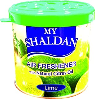 My Shaldan Lime Car Air Freshener (Green, 80 g)