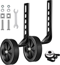 BNKIHDD Bicycle Training Wheels for Kids Stronger Version Replacement Adjustable Bicycles..