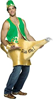 Men's Genie in The Lamp Outfit Funny Theme Adult Halloween Fancy Costume