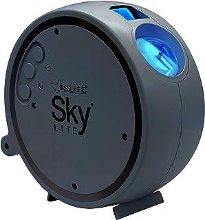 BlissLights Sky Lite - پروژکتور ستاره ای لیزری دوار سحابی LED برای دکوراسیون اتاق بازی ، روشنایی سینمای خانگی یا محیط نور شب (آبی / آبی)