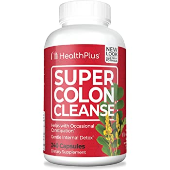 Super Colon Cleanse, 500mg, 240 Count (Pack of 1)