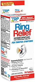 The Relief Products Ring Relief Fast Dissolving Tablets, 70 Count