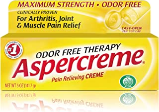 Aspercreme Maximum Strength Pain Relief Cr�me with Aloe for Arthritis, Joint & Muscle Pain, 5 Ounces