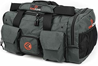 "Original Nylon Gym Bag - Heavy Duty and Water-Resistant Duffle Bag - Military Spec Nylon- Heavy Duty Steel Buckles - 20"" x 12"" x 12"""