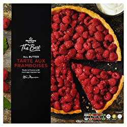 Morrisons The Best Tarte Aux Framboises, 430g (Frozen)
