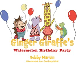 Ginger Giraffe's Watermelon Birthday Party