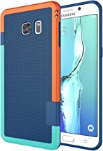 Galaxy S6 Edge Plus Case, Jeylly [3 Color] Slim Hybrid Impact Rugged Soft TPU & Hard PC Bumper Shockproof Protective Anti-Slip Case Cover Shell for Samsung Galaxy S6 Edge+ Plus G928 - Blue
