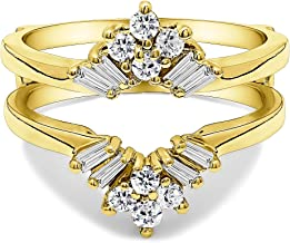 Best solitaire enhancer yellow gold Reviews