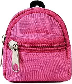 COAFIT Doll Backpack Mini Zipper Backpack Doll Accessory Bag Doll Schoolbag Accessory