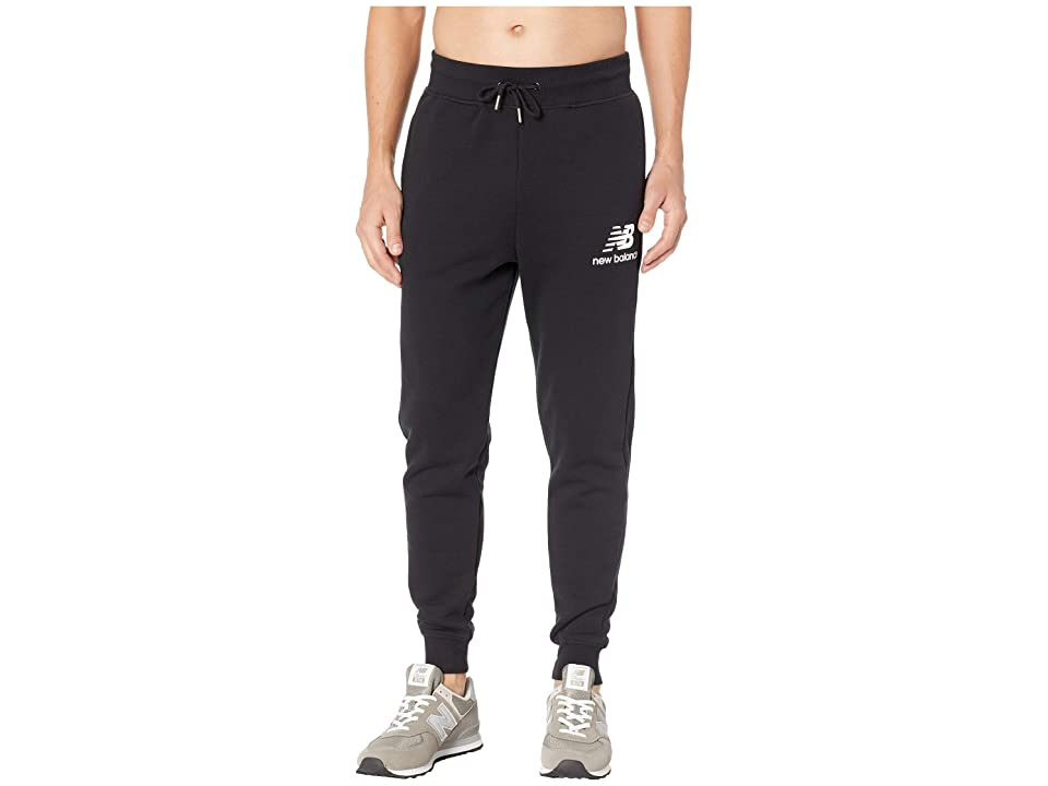 New Balance Essentials Brushed Sweatpants (Black) Men