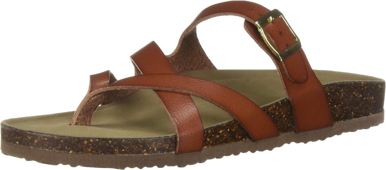 Madden girl Womens Bartlet Flat Sandal