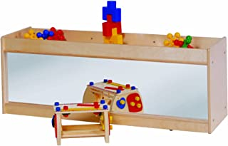 Steffy Wood Products Toddler Storage with Mirror Back