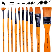 Mont Marte Art Paint Brushes Set Acrylic 10 Pieces