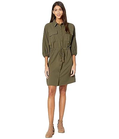 Bishop + Young Safari Dress (Safari Green) Women