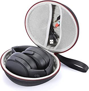 Hard Carrying Case for Skullcandy Crusher, Skullcandy Hesh 3 Bluetooth Wireless Over-Ear Headphones, Travel Carrying Storage Bag - Black