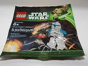 Lego Star Wars Clone Trooper Lieutenant Polybag Set New In Bag 5001709-1(US Seller)