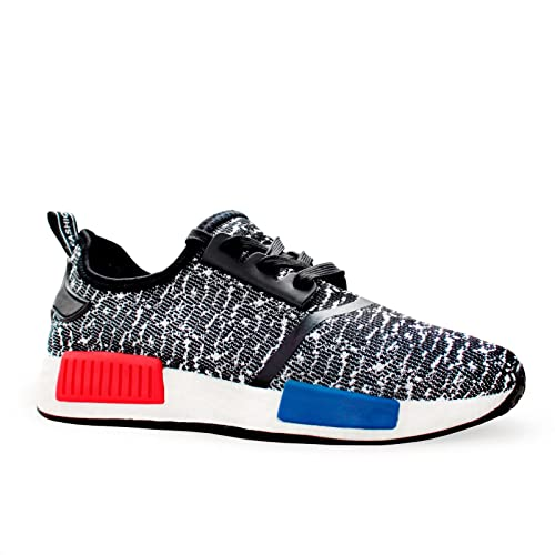 63006e82e New Womens Girls Boys Mens Black Black Yeezy NMD Inspired Fitness Unisex  Trainers Boost Running Casual