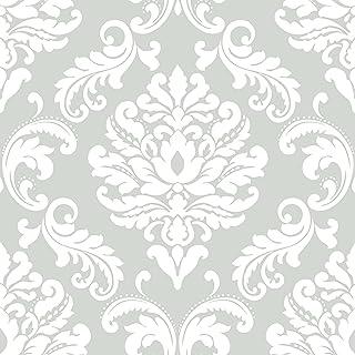 Amazon Com Damask Wallpaper Wallpaper Wallpapering