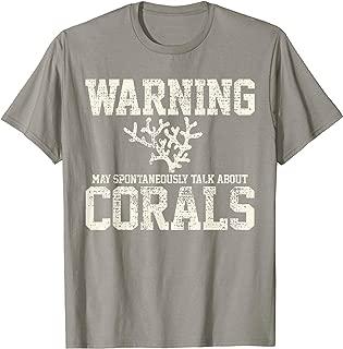 Coral Reef Aquarist Marine Biologist Vintage Gift T-Shirt