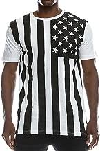 FCYOSO Men's American Flag Printed Athletic Training Pullover Tank Top Shirt