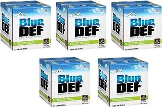 BlueDEF DEF002 Diesel Exhaust Fluid - 2.5 Gallon Jug (5)