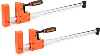 Jorgensen Cabinet Master 24-inch 90° Parallel Jaw Bar Clamp, 2-Pack