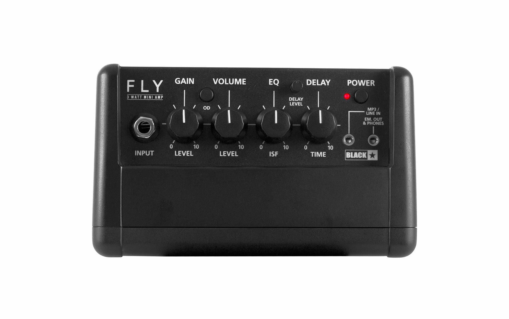 Blackstar Electric Guitar Mini Amplifier, Black (FLY3)