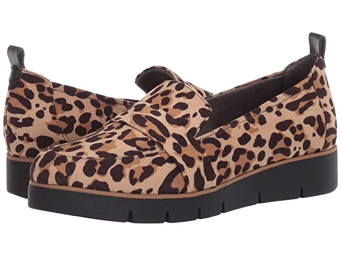Dr. Scholls  Webster (Tan/Black Leopard) Womens  Shoes