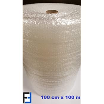 Luftpolsterfolie 150 cm x 50 m Blasenfolie Knallfolie Noppenfolie Verpackung
